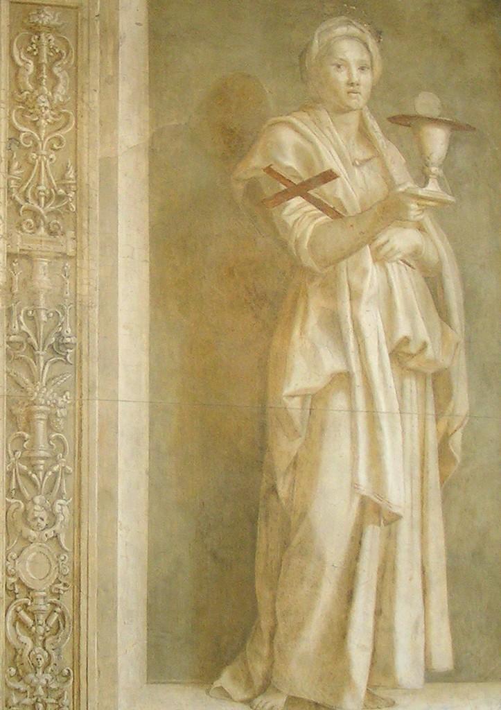 Andrea del Sarto, Fede, 1523, Chiostro dello Scalzo Firenze