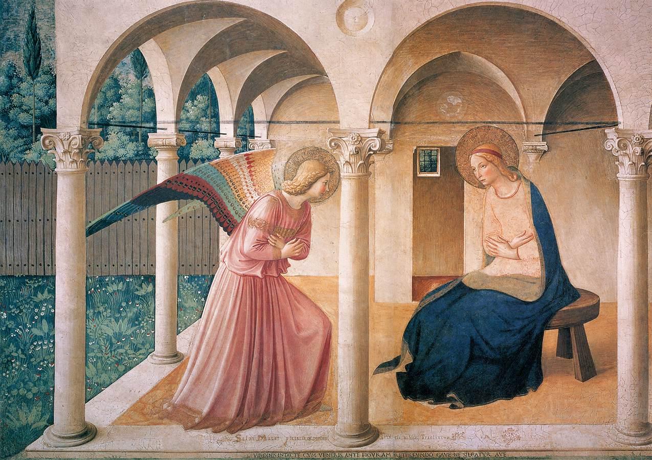Fra Angelico's Annunciatie