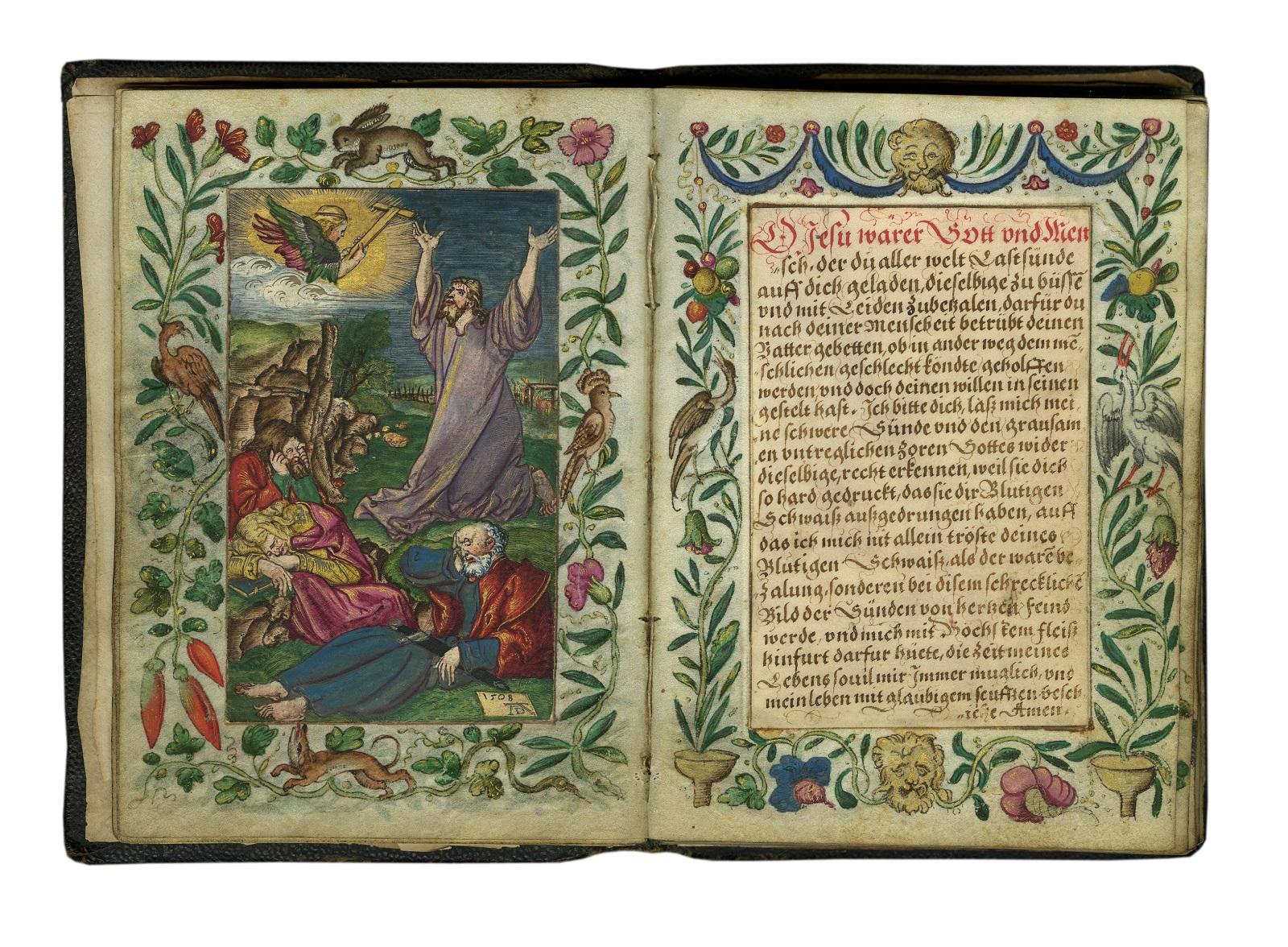 Albrecht Dürer (1471–1528) en anderen, Protestants gebedenboek, Nuremberg?, 1507-1512, Les Enluminures