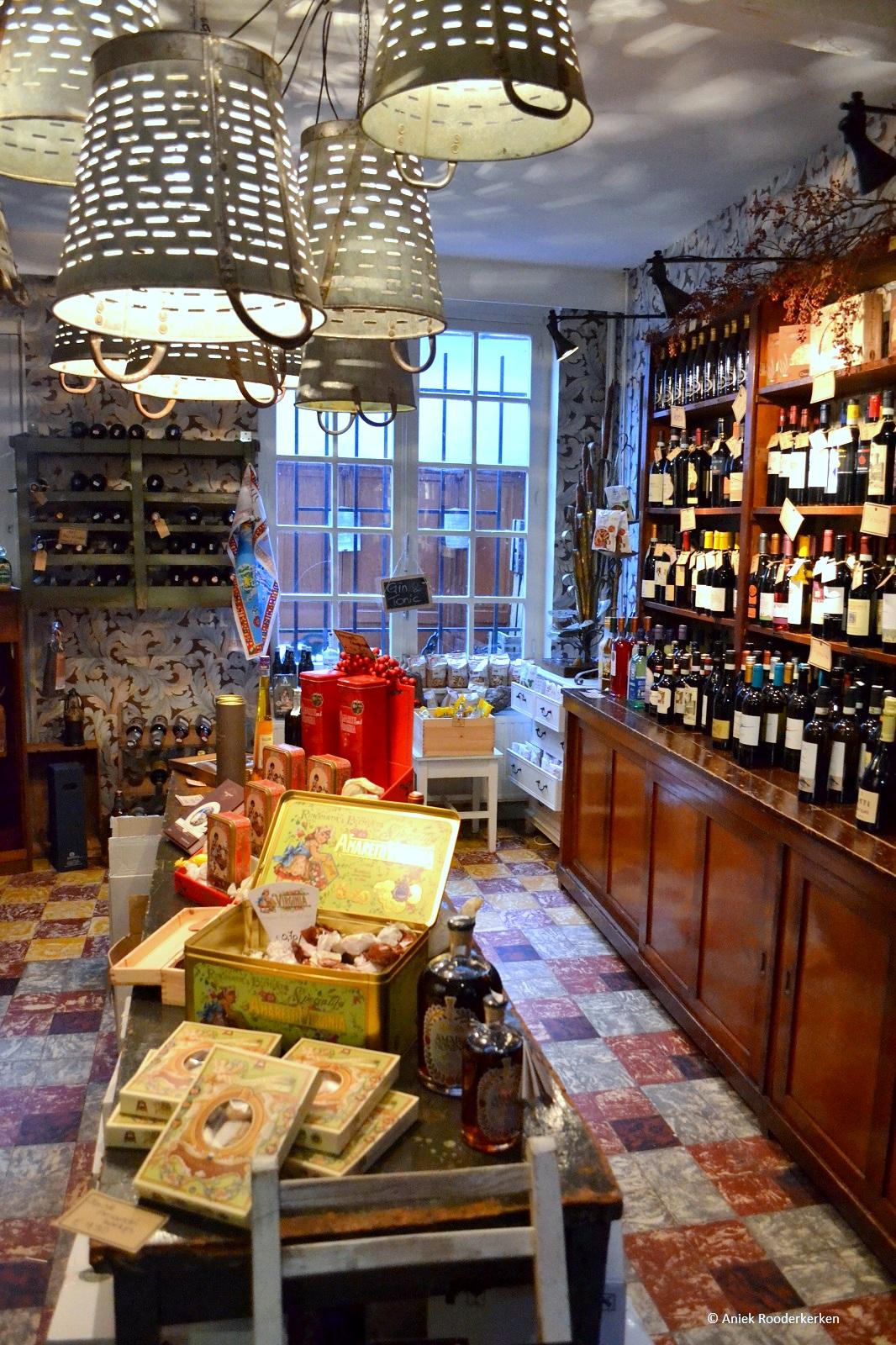 Italiaanse winkel in Leuven