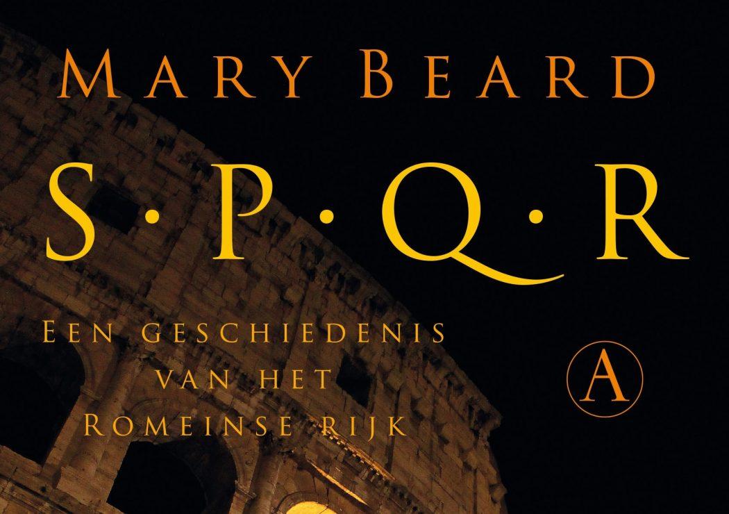 SPQR van Mary Beard