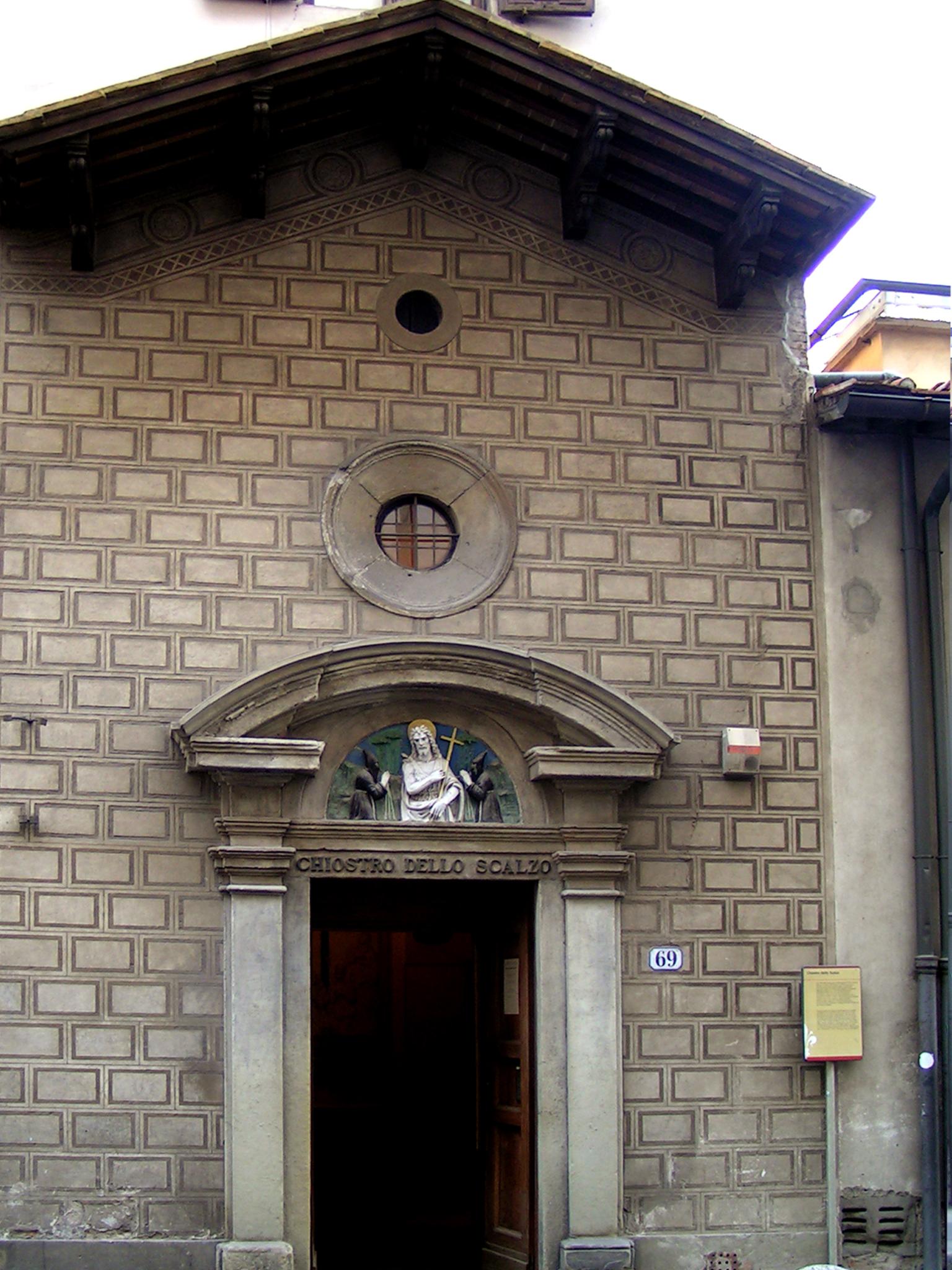 Florence, Façade van de Chiostro dello Scalzo