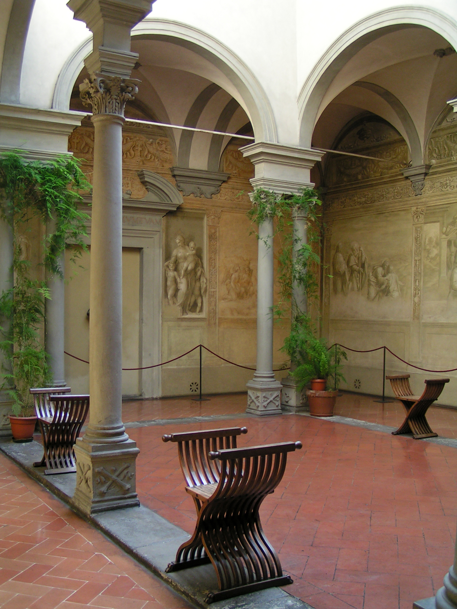 Chiostro dello Scalzo, Firenze, FLorence