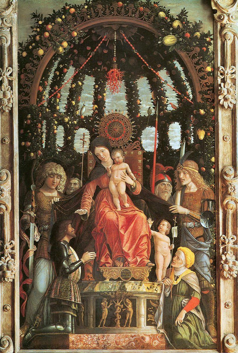 Pala della Vittoria, Andrea Mantegna, Madonna della Vittoria