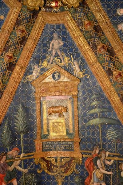 Borgia vertrekken in het Vaticaan