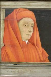 Portret van Giotto, anoniem, 16e eeuw, Louvre Parijs