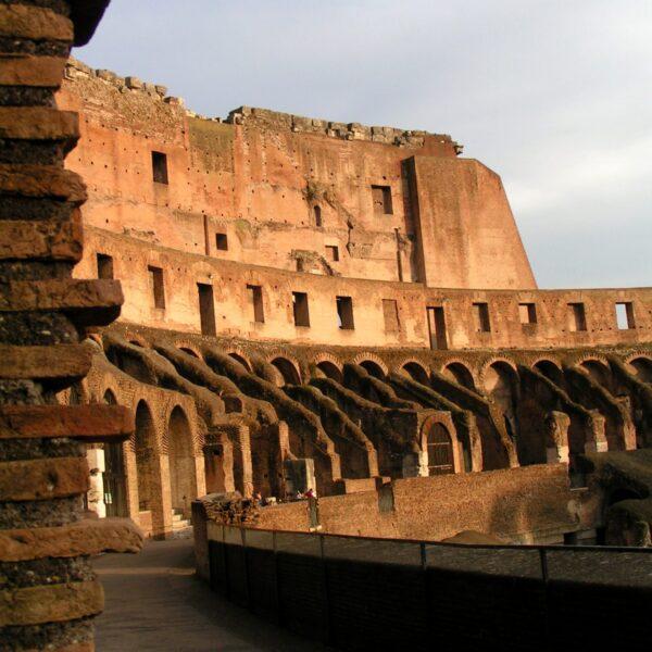 Avondzon op het Colosseum