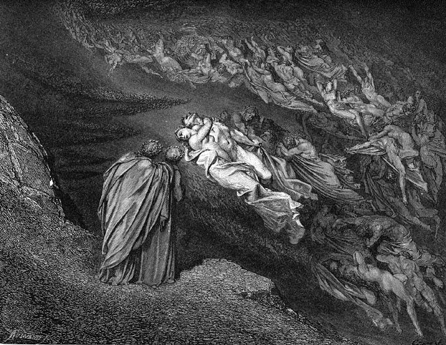 Gustave Dore - Francesca and Paolo