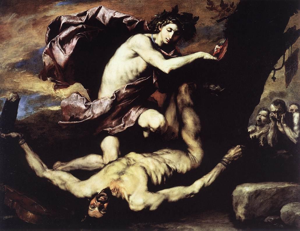 Jusepe de Ribera's Apollo en Marsyas, 1637