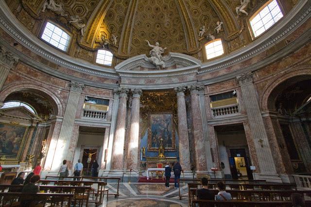 Gianlorenzo Bernini, Sant'Andrea al Quirinale Rome