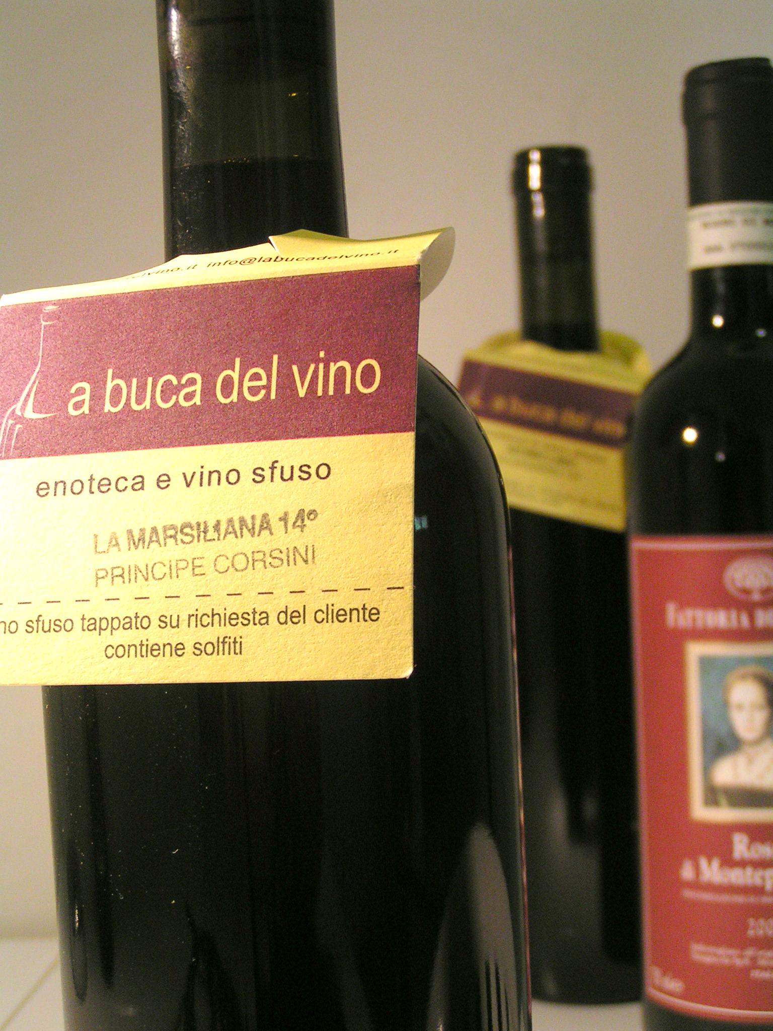 La Buca del Vino