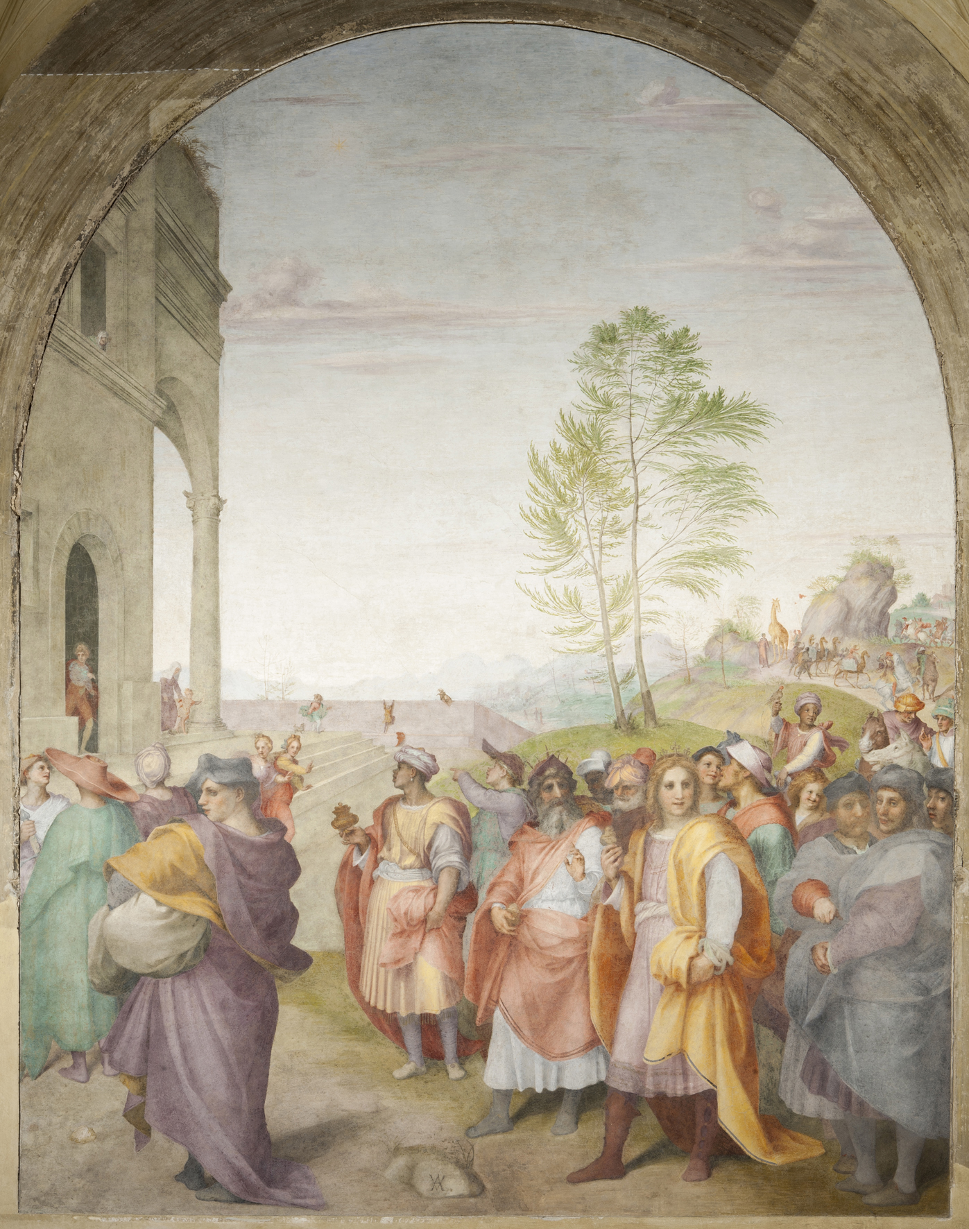 Andrea fresco
