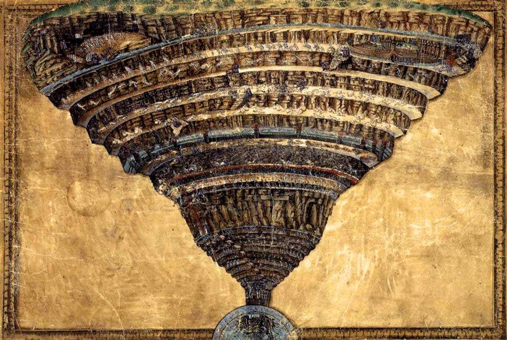 Botticelli's Mappa dell'Inferno