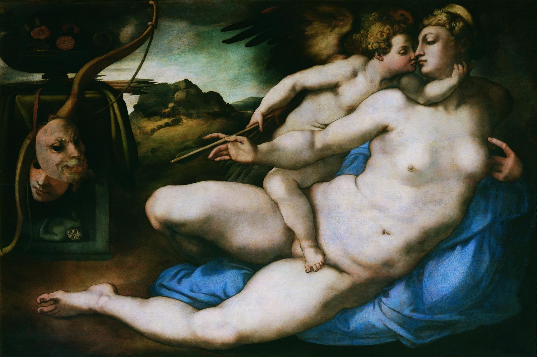 Pontormo, Venus en Cupido