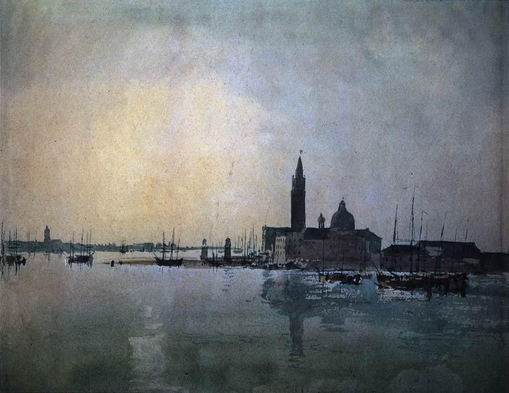 Joseph Mallord William Turner, San Giorgio Maggiore, 1819, Tate Gallery, London