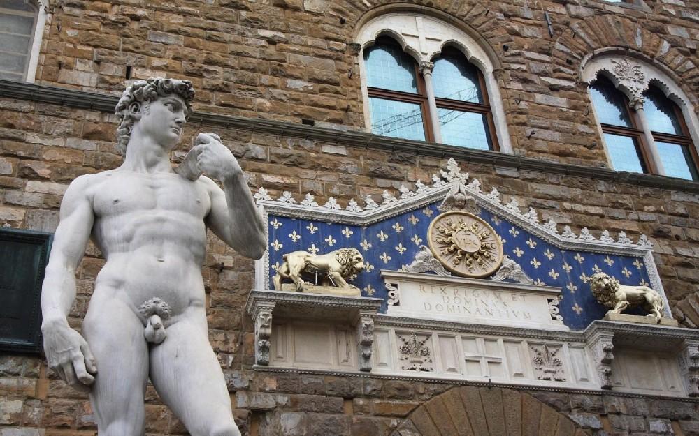 David van Michelangelo, Piazza della Signoria, Florence