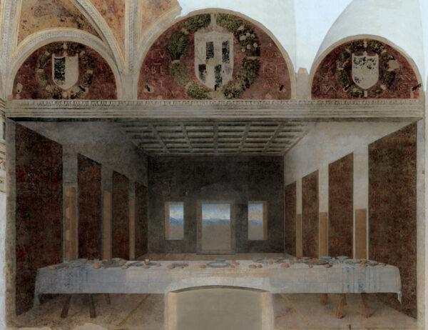 Bence Hajdu's Laatste Avondmaal naar Leonardo da Vinci