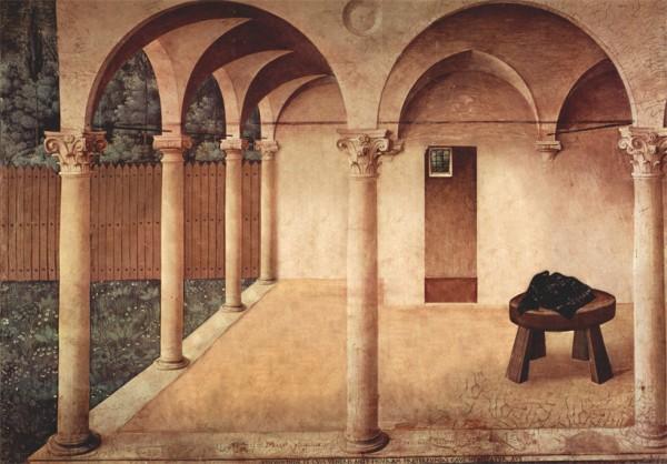 Bence Hajdu's Annunciatie naar Fra Angelico