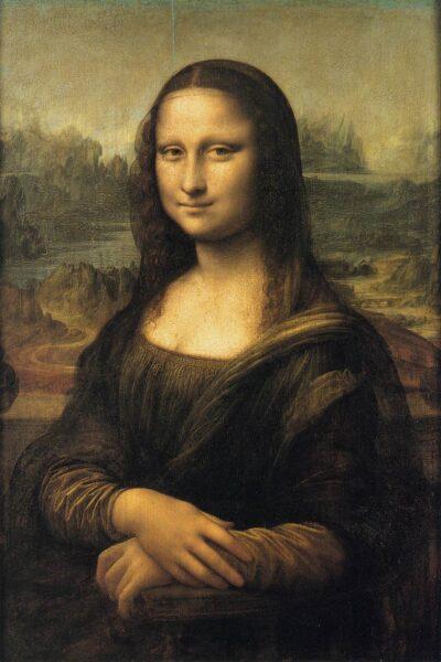 Leonardo da Vinci, Mona Lisa, 1503-1506, Louvre, Parijs