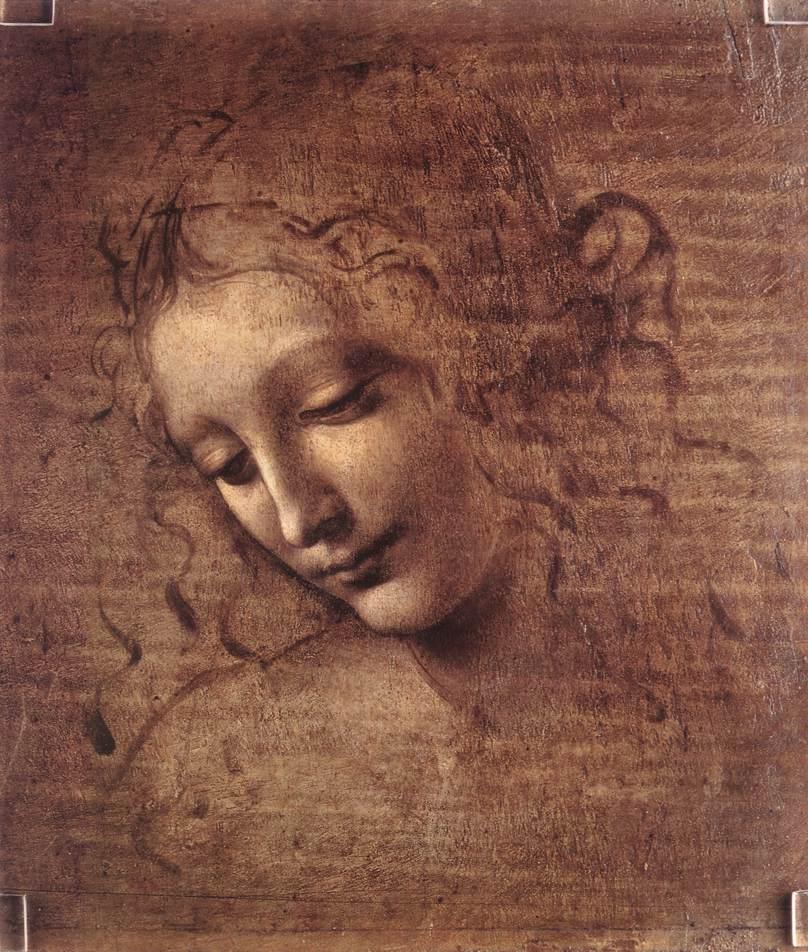 Leonardo da Vinci, portret van een vrouw