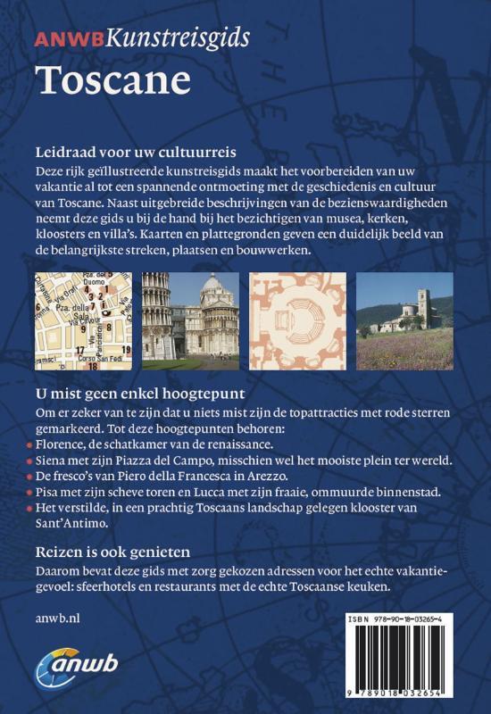 ANWB Kunstreisgids Toscane
