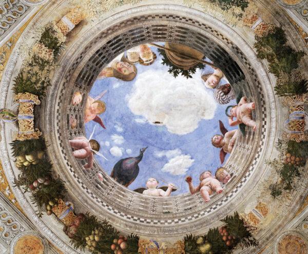 Andrea Mantegna's Oculus in de Camera degli Sposi