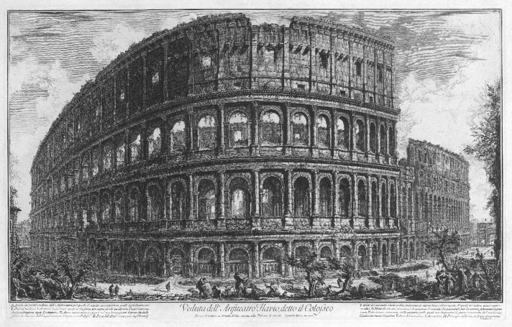 Colosseum, Rome. Teylers Museum Haarlem