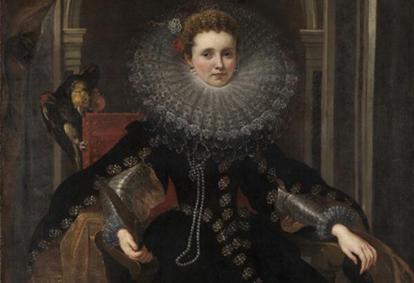 Peter Paul Rubens, Portret van markiezin Veronica Spinola Doria, 1607-1608, Staatliche Kunsthalle Karlsrühe