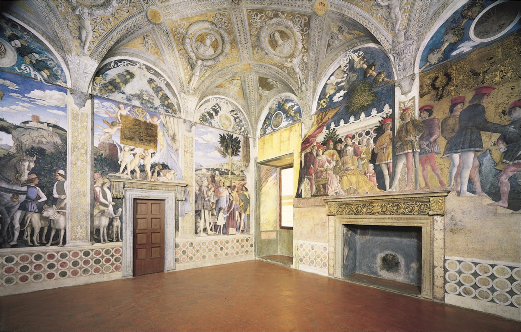 Andrea Mantegna, Camera degli Sposi, Mantua