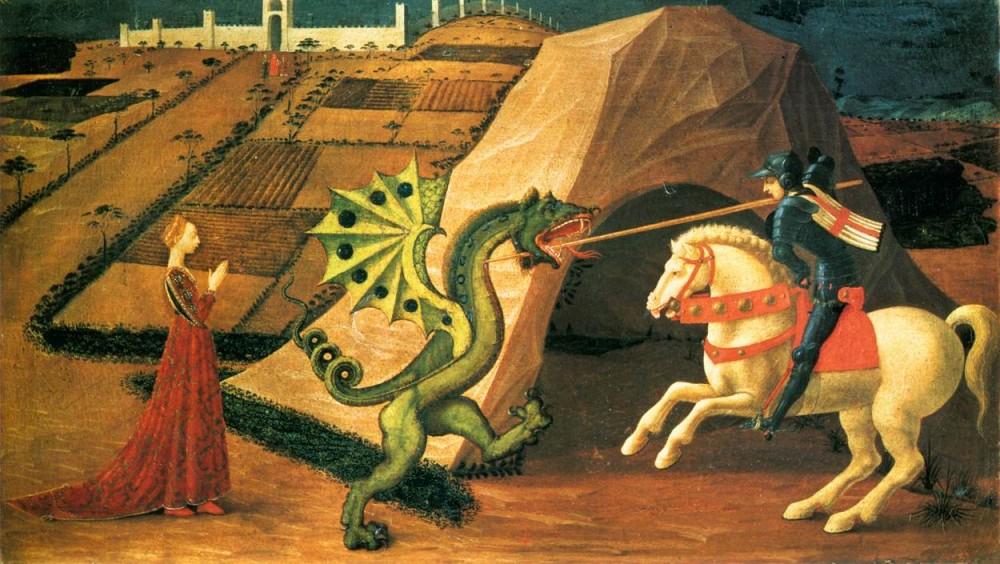 Sint Joris en de Draak, Paolo Uccello