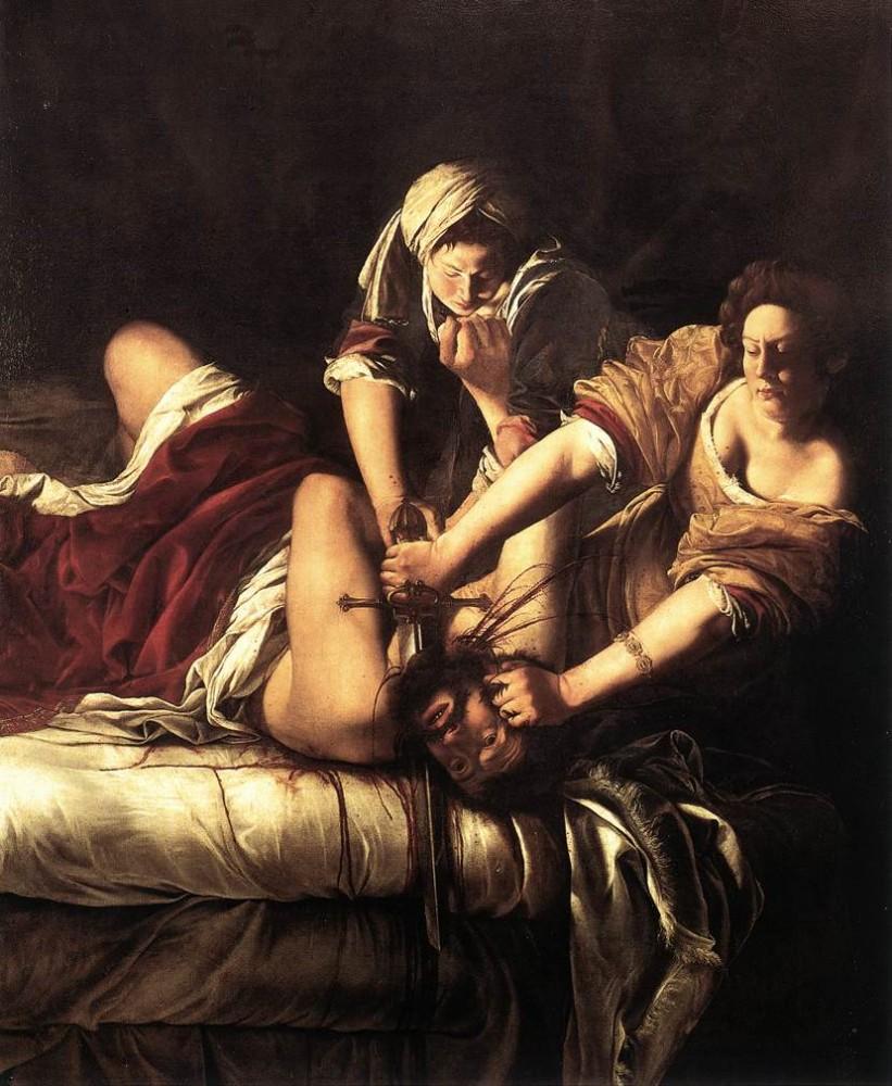 Artemisia Gentileschi, Judith en Holofernes