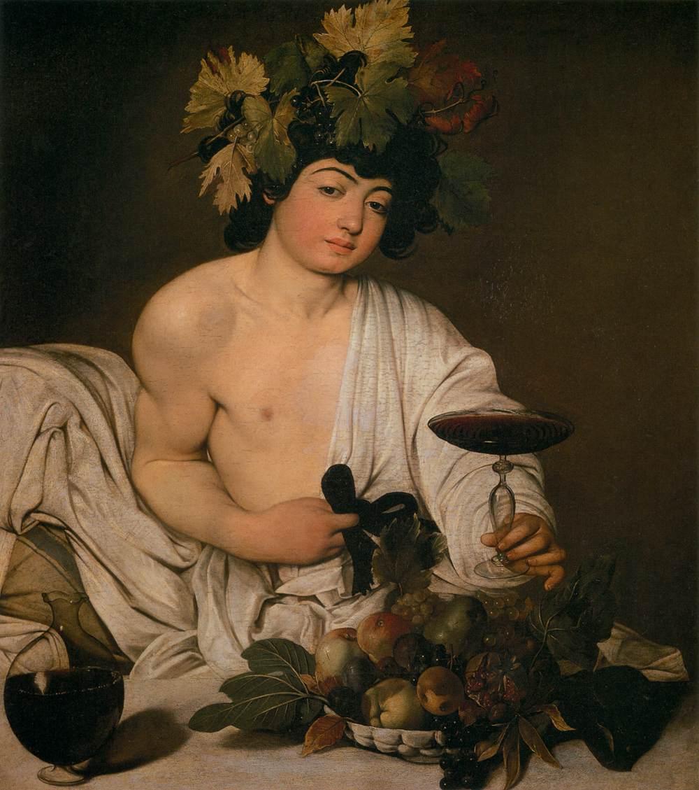 De Bacchus van Caravaggio in de Uffizi