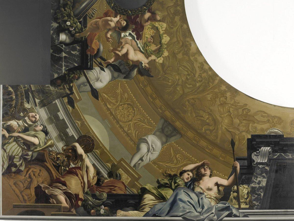 Gerard-de-Lairesse-plafondschildering-Diana-grote-zaal-Soestdijk