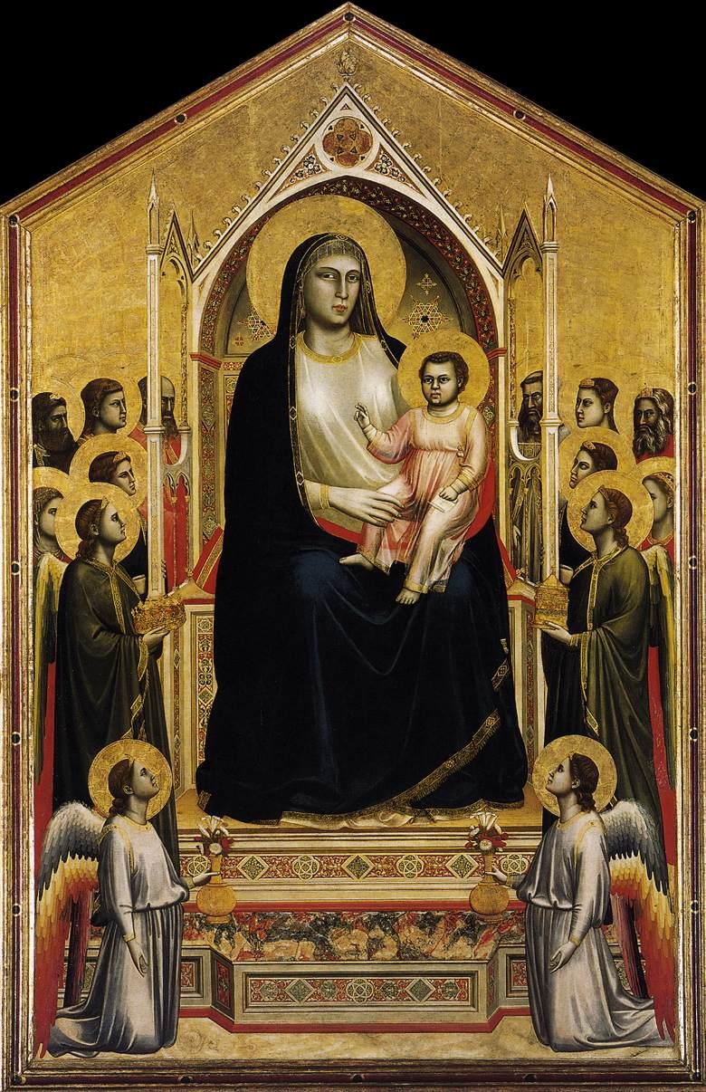 Giotto, Ognissanti Madonna, Uffizi