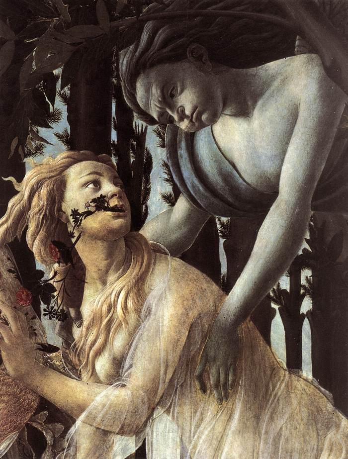 Sandro Botticelli, (1445 - 1510), La Primavera, c. 1482, Galleria degli Uffizi, Florence