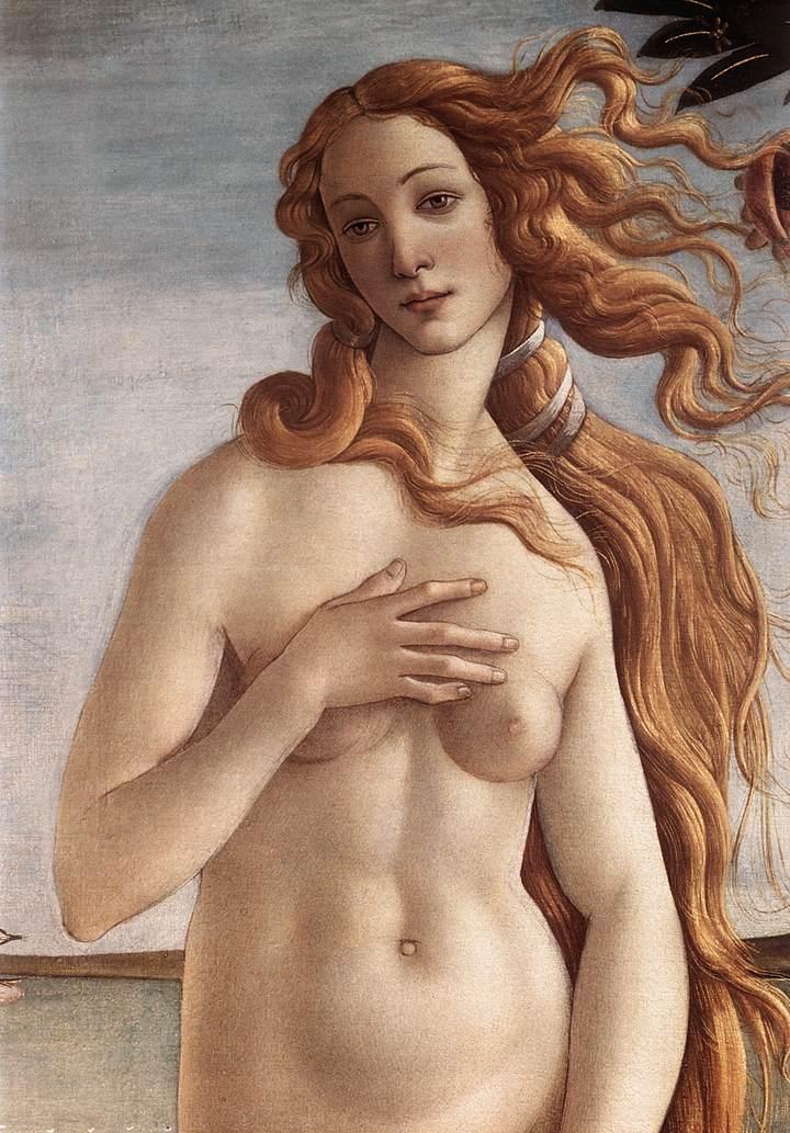 Botticelli's Geboorte van Venus