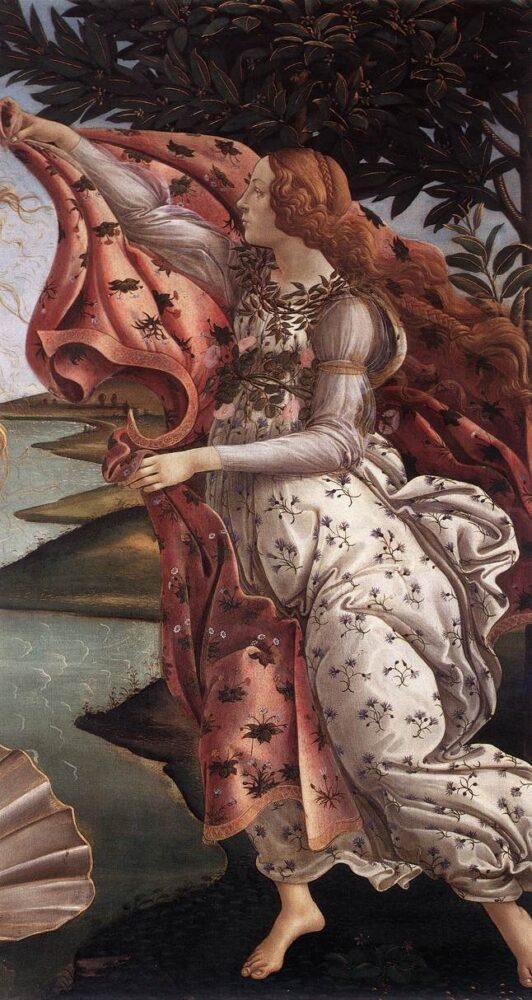 Sandro Botticelli (1445-1510), De Geboorte van Venus, c. 1485, Galleria degli Uffizi, Florence