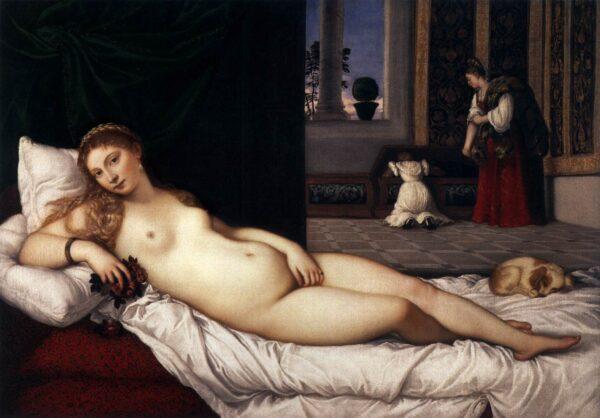 Titiaan, Venus van Urbino, Uffizi Florence