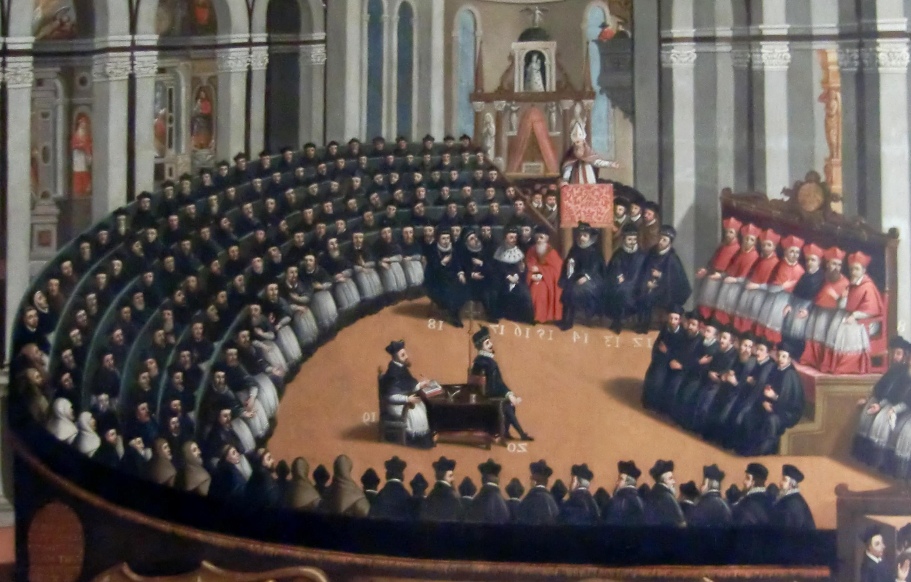 Concilie van Trente, Museo del Palazzo del Buonconsiglio, Trento