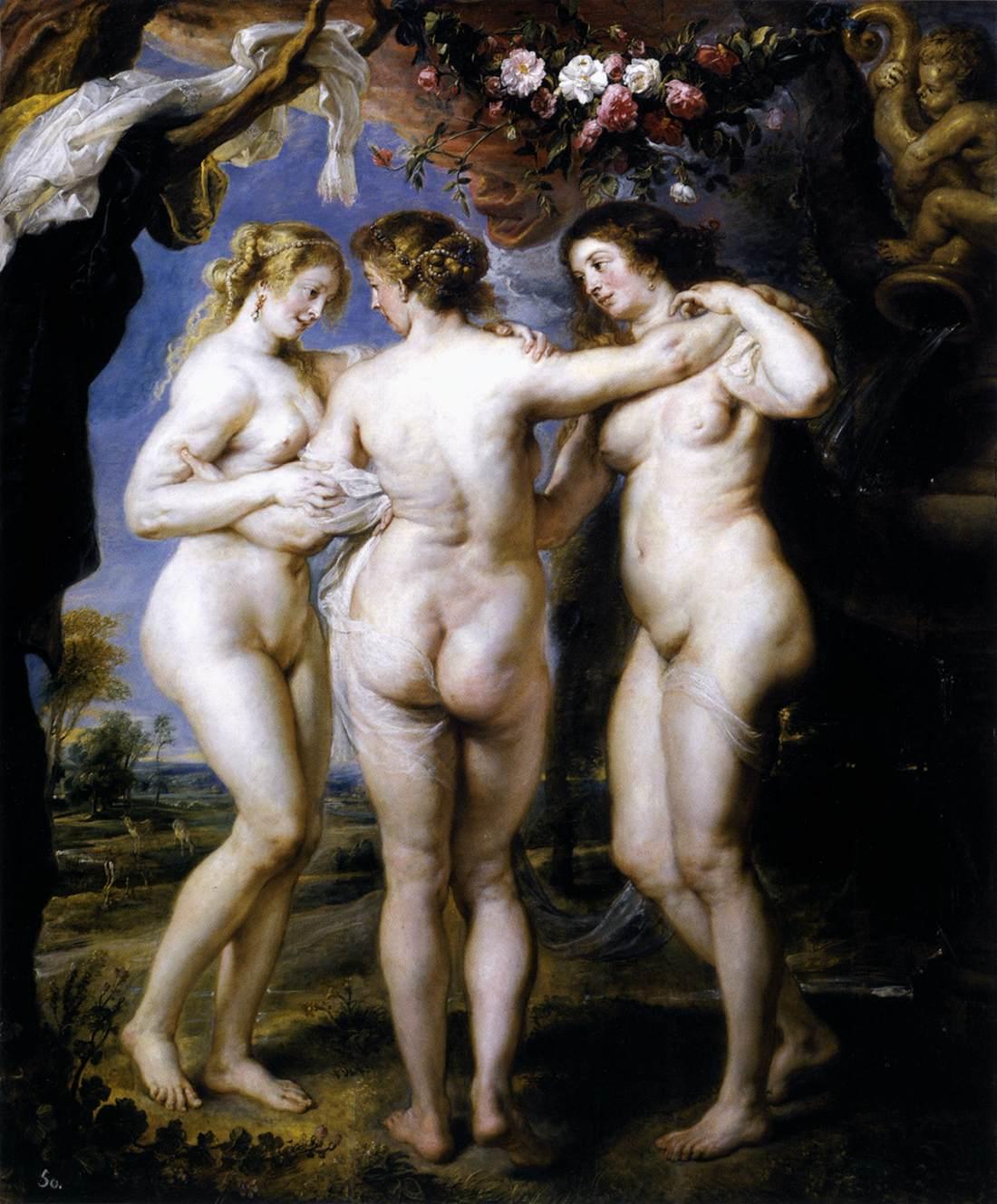 Peter Paul Rubens, De Drie Gratieën, 1639, Museo del Prado, Madrid