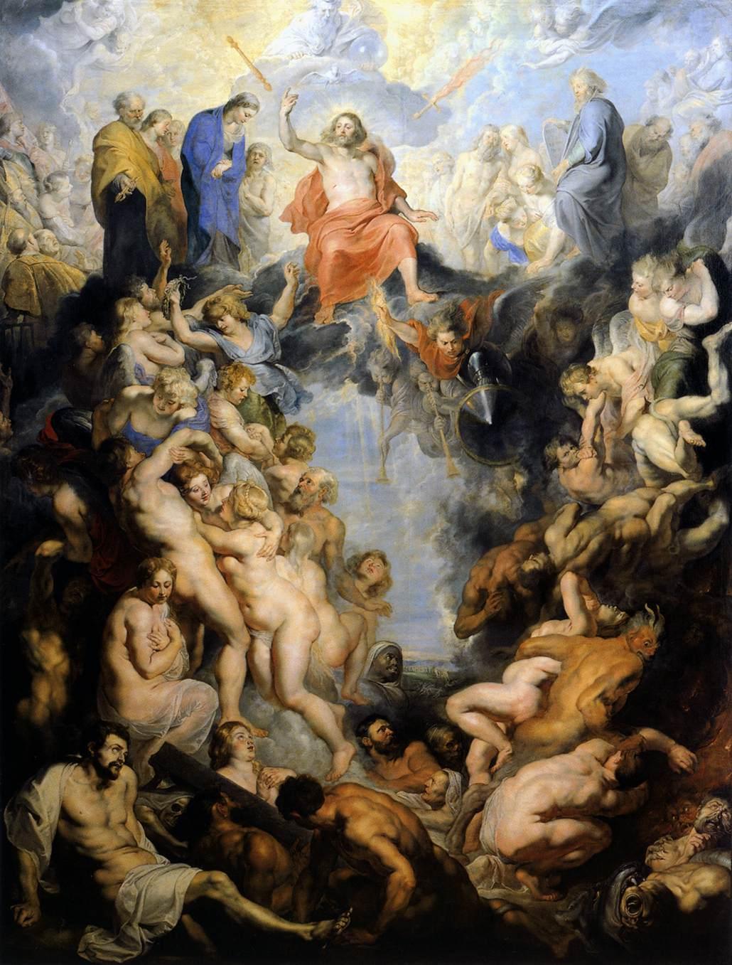 Peter Paul Rubens, Het Laatste Oordeel, Alte Pinakothek, Munchen