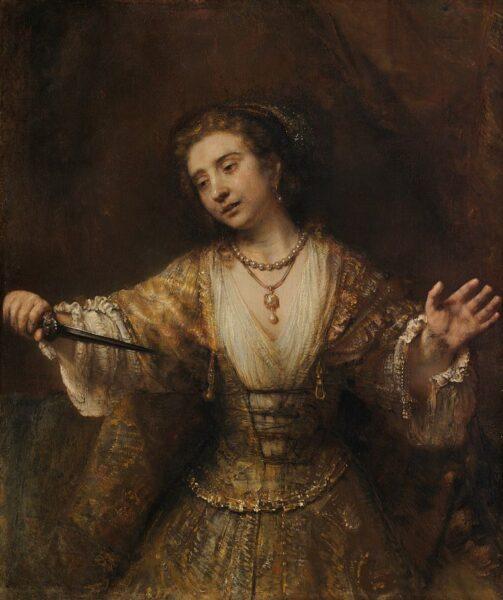 Rembrandt van Rijn, Lucretia