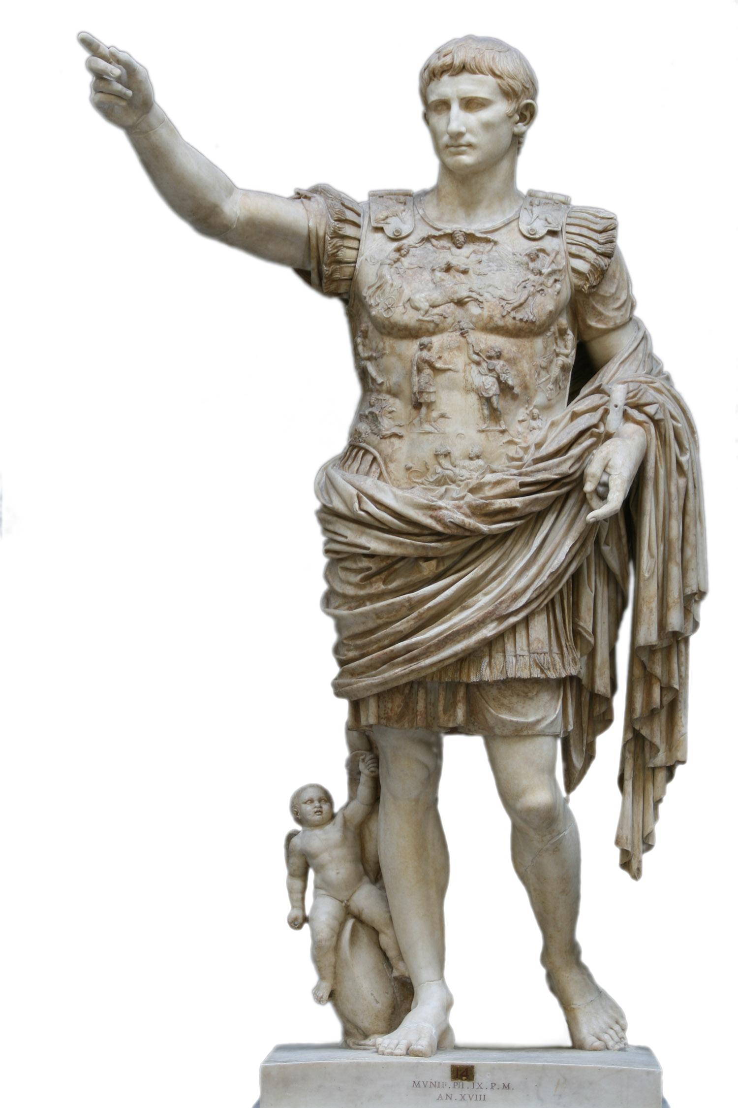 De Augustus van Prima Porta, Vaticaanse Musea Rome