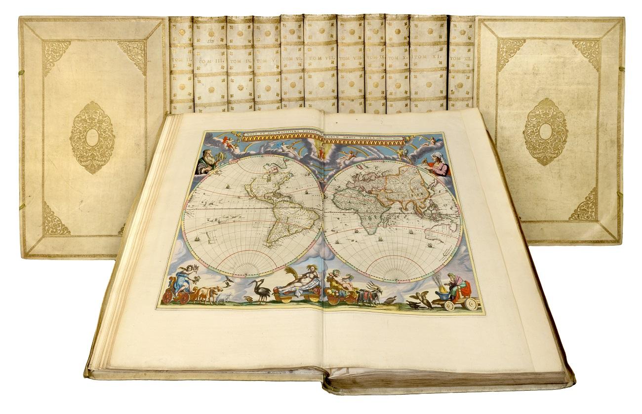 Johannes Blaeu, Le Grand Atlas, 12 volumes, folio, Amsterdam, 1663, Exhibitor: Crouch Rare Books