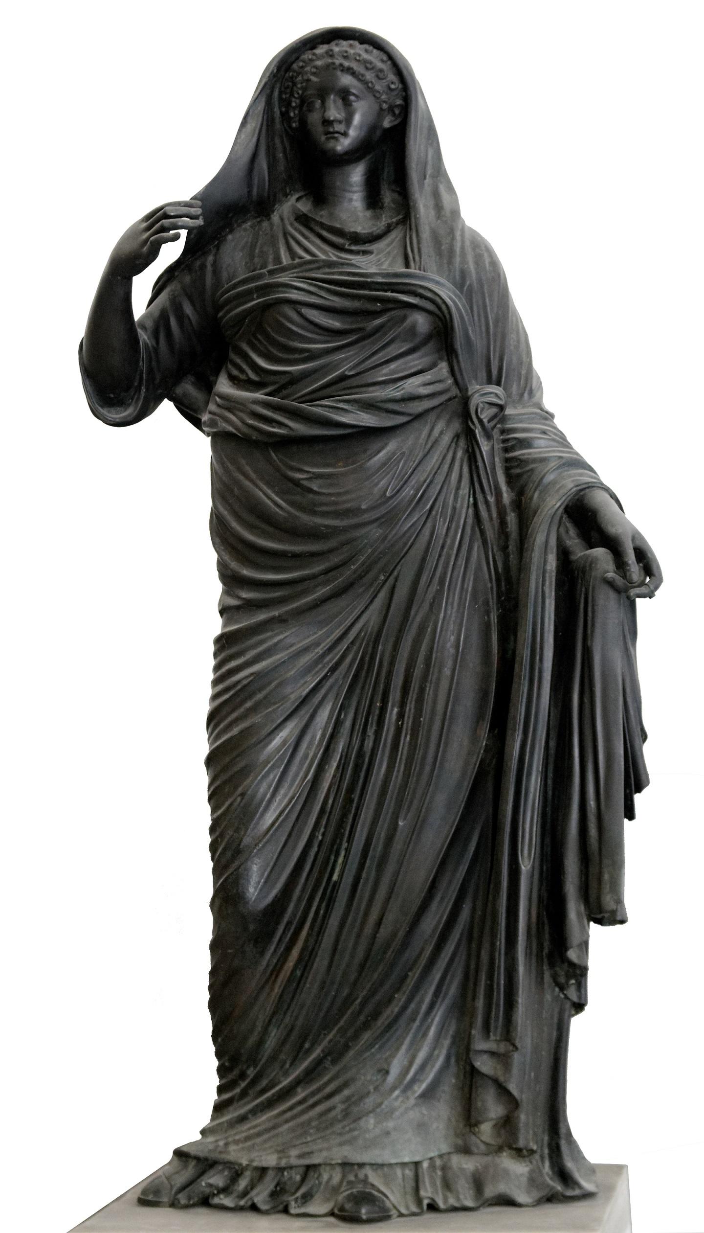 Museum het Valkhof, Van hun voetstuk, Keizerin Agrippina