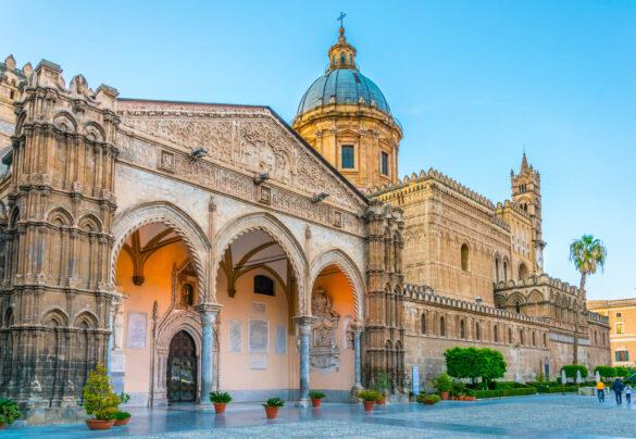 Kathedraal van Palermo, Sicilië, Italië