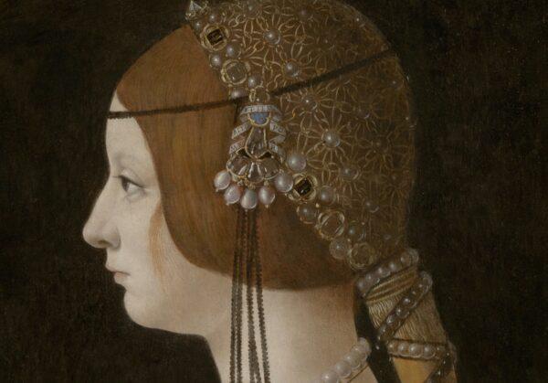 Bianca Maria Sforza's verlovingsportret