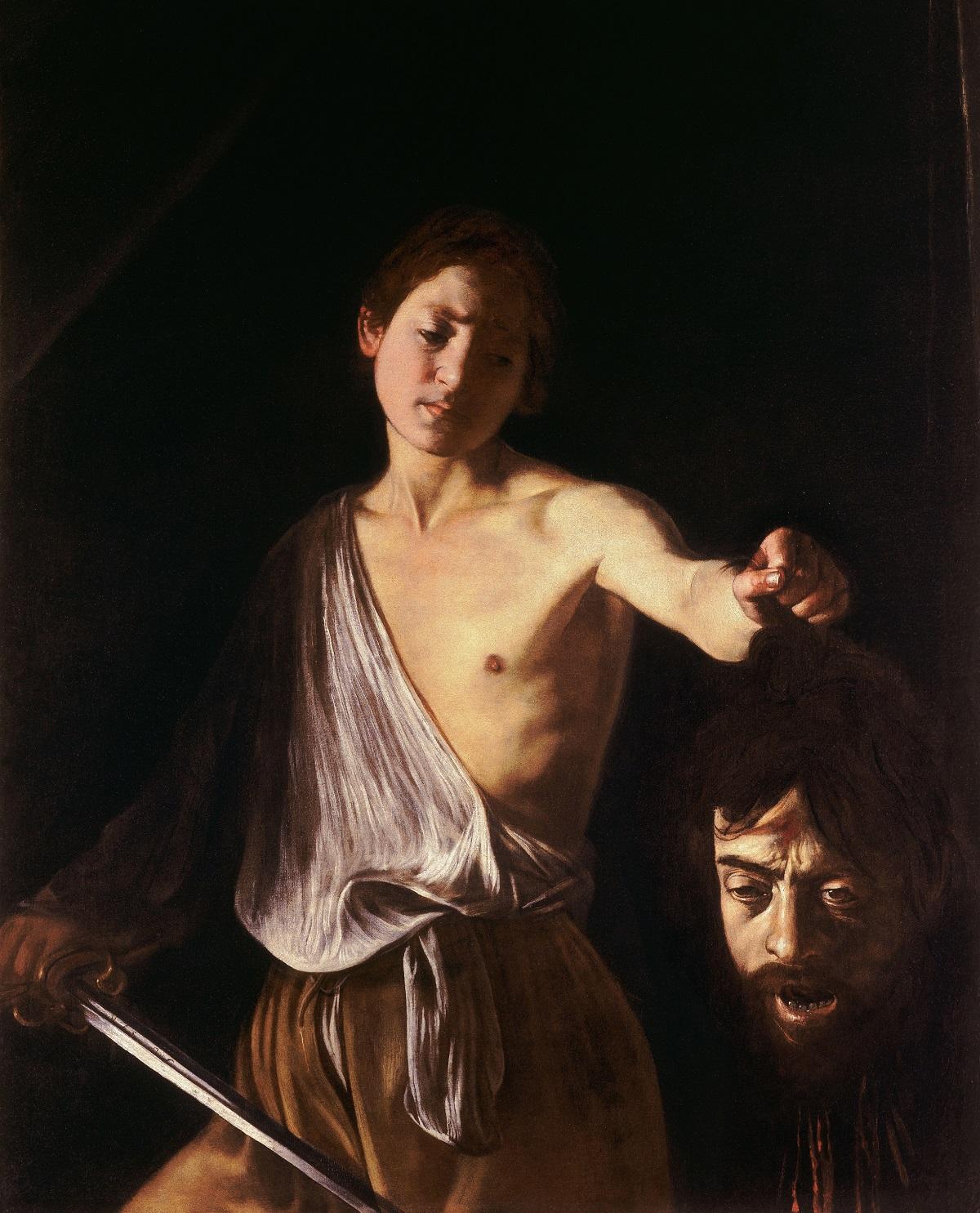 Caravaggio, David en Goliath