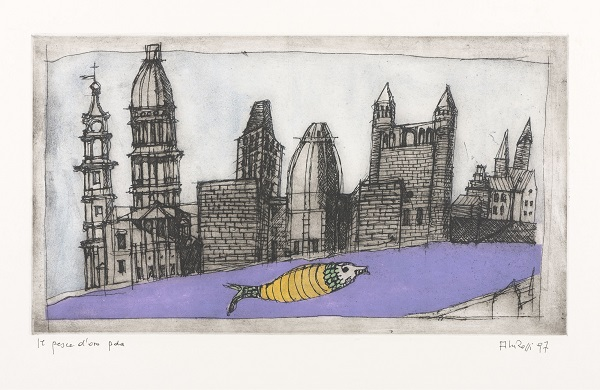 © Aldo Rossi, The Goldfish, 1997, collectie Bonnefantenmuseum, © Eredi Aldo Rossi