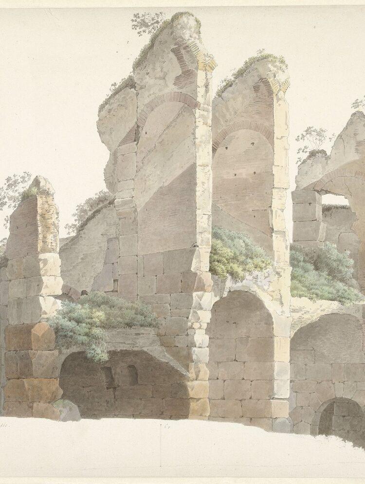 Het Colosseum te Rome, Josephus Augustus Knip, 1809